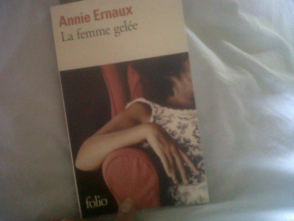 LA FEMME GELÉE d'Annie Ernaux (1/2)