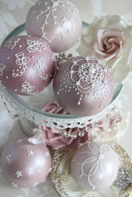 boules sucrées, roses, ana-rosa tumblr