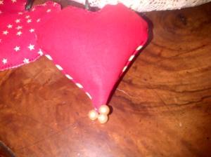 coeurs finis+ perles