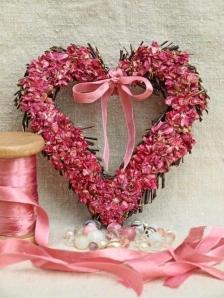 coeur couronne ruban rose ana-rosa tumblr