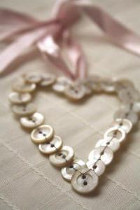 coeur en boutons nacre tersessenta tumblr