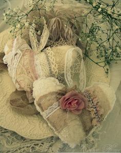 coeurs dentelle rose ana-rosa tumblr