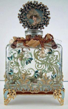 flacon ancien, parfums lylouanne tumblr com