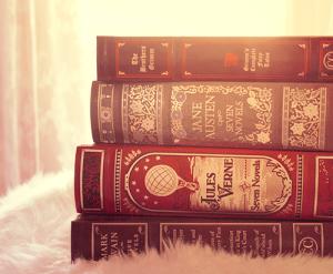 livres anciens austen, verne lylouanne tumblr
