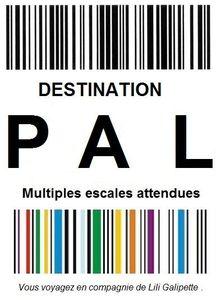 logo destination PAL challenge été LiliGalipette