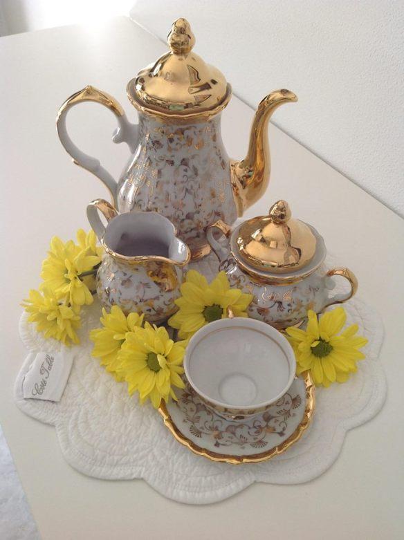 thé de printemps...