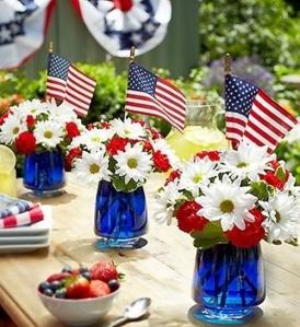 table en fête ...nationale aux USA !