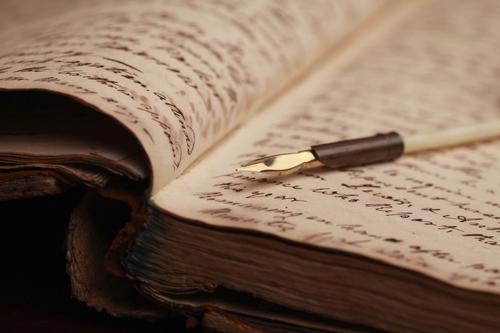automne plume manuscrit vanishingintoclouds