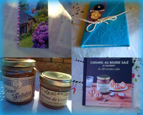 carnet breton, carnet corse, Salidou et Gwellaou bretons avec livre de recettes pour optimiser, hé hé !!!