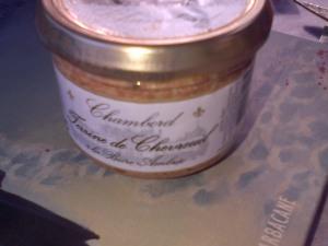 Terrine de chevreuil du château de Chambord, ma gourmandise me tuera !