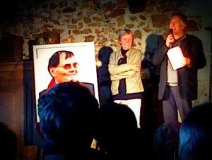 Odile Hervé-Bazin et Jean Rouaud au château de Bois-Brinçon (49)