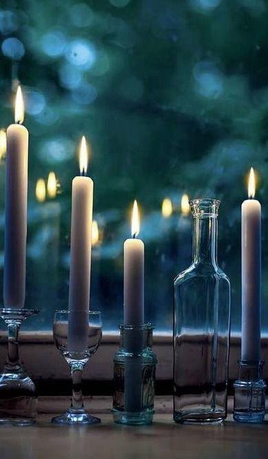 bougies élancées ana-rosa