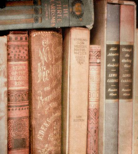 livres anciens pastel lamaisongray tumblr