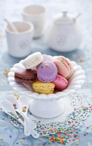 macarons couleurs