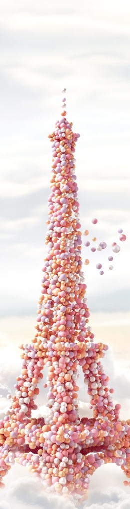 tour eiffel en macarons  tinkerbell2477 tumblr