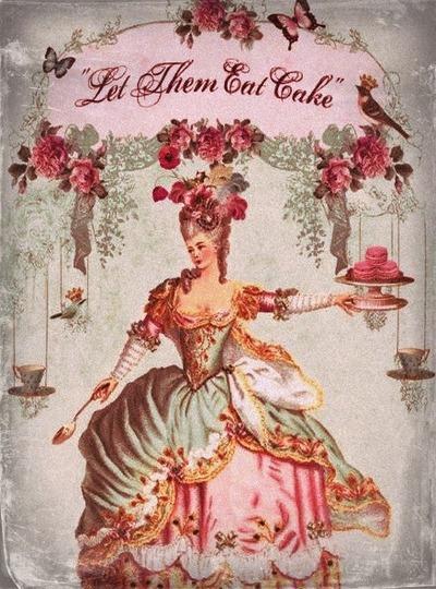rose cake m-antoinette livvysmomsvintageworld