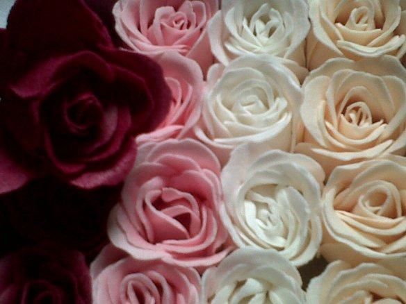 savons roses de soene
