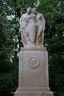 albert samain monument à sa gloire à Lille