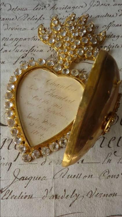 coeur bijou manuscrits tersessenta