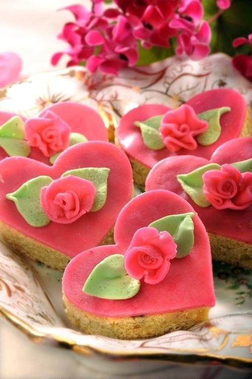 coeur gâteaux shabby chou ana-rosa