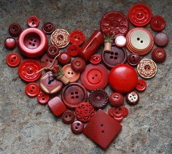 coeurs en boutons pour syl