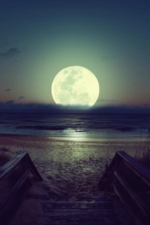 chopin lune sur mer