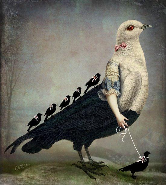 plumes quand j'ai tt le monde sur le dos