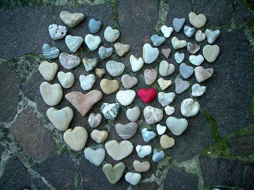 coquillage coeur de galets