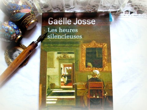 Josse Gaelle les heures silencieuses couv