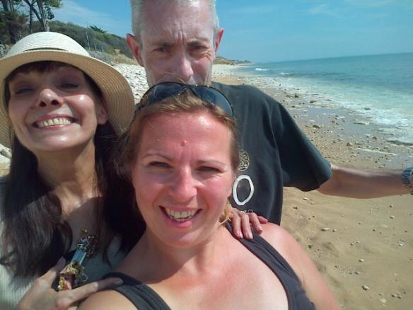 mind Douce Isa a la plage les Dalton et la naine !