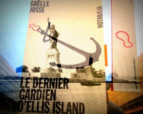 Ceci est un montage fait par moi à partir de la couverture originale et d'une vue d'Ellis Island...