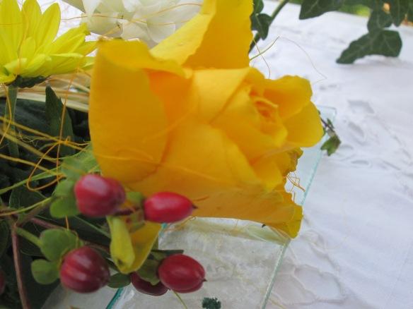 rose d'un bouquet d'automne, enfin presque !