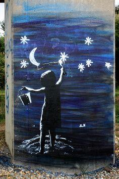 apparition cueilleur de rêves et d'étoiles