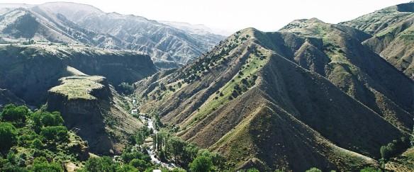Montagnes d'Arménie.
