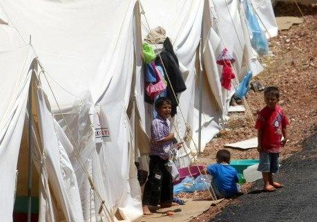 plus de deux millions d'enfants syriens victimes de la guerre...