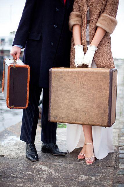 voyage valises couples Pinterest
