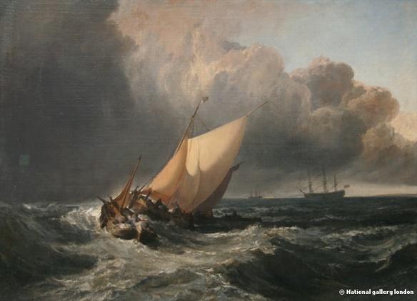 a cargo tempête