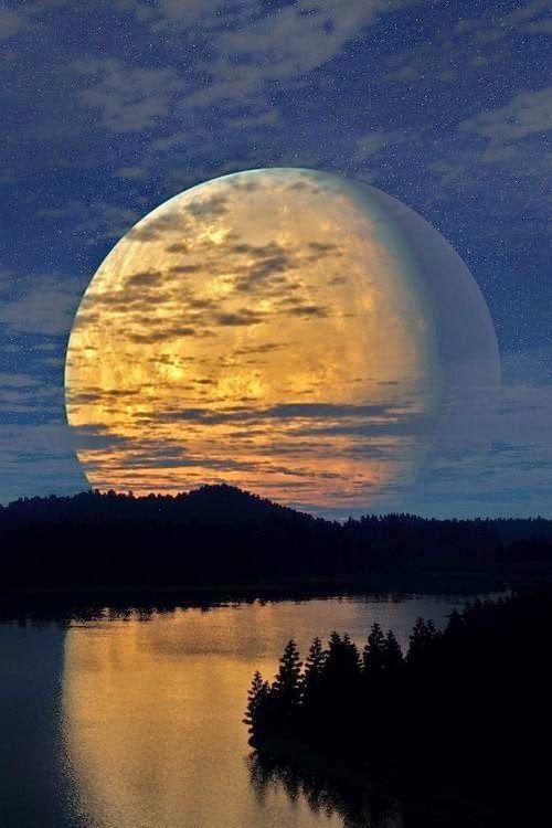a mind pleine lune