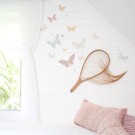 blanc d'été papillons Simple Life sur FB