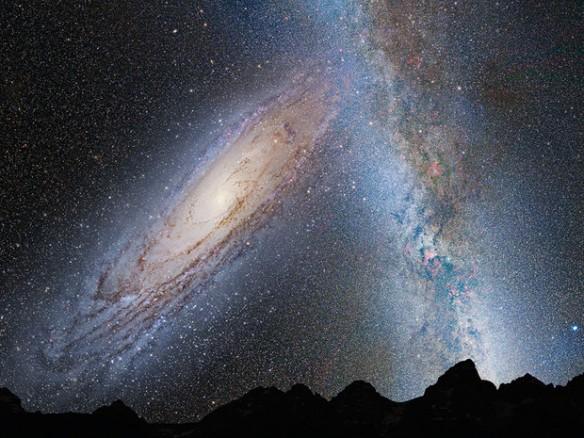 étoile voie lactée géo le 6.12.14