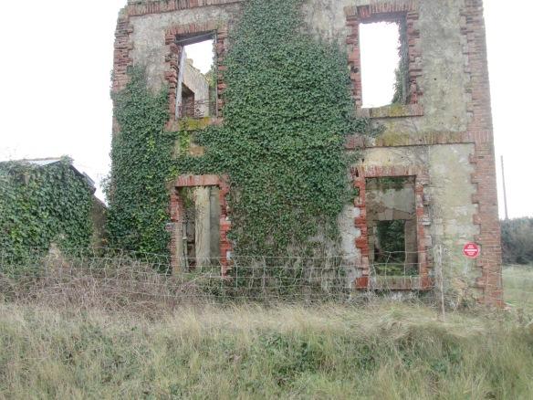 Maison abandonnée du côté de l'Aiguillon-sur-mer...