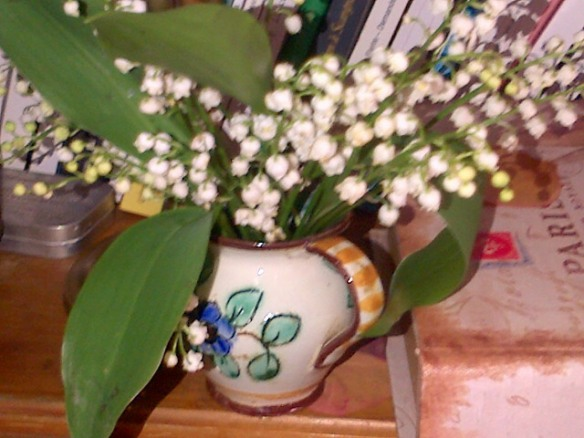 muguet1ermai14 cueilli 30 avril dernier bouquet