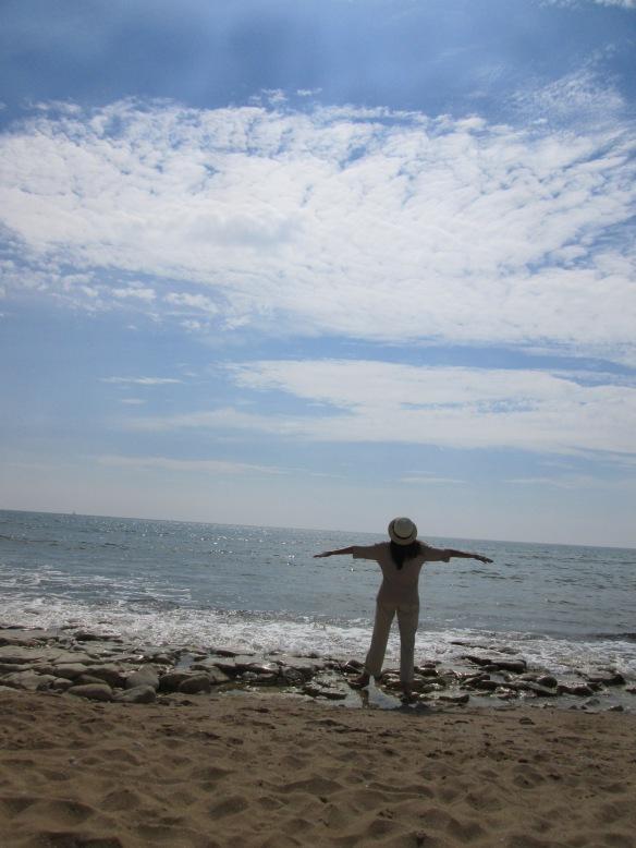 face à la mer quand j'aimerais m'envoler