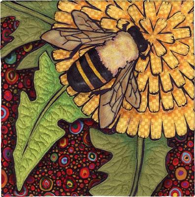 a abeilles fleur d'or