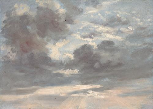 nuages peinture
