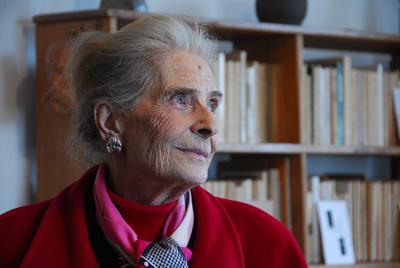 Hélène Cadou en 2007 par Vincent Jacques.