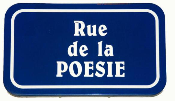 poésie pancarte