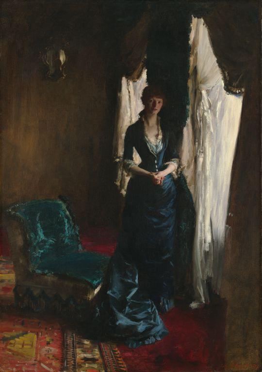 a bauchau John Singer Sargent Louise Lefevre 1882