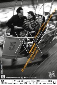 a Printemps des Poètes 2016 18ème édition affiche le Grand XXème