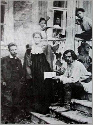 ...avec Lou Andréa-Salomé et d'autres...moins connus en 1909.